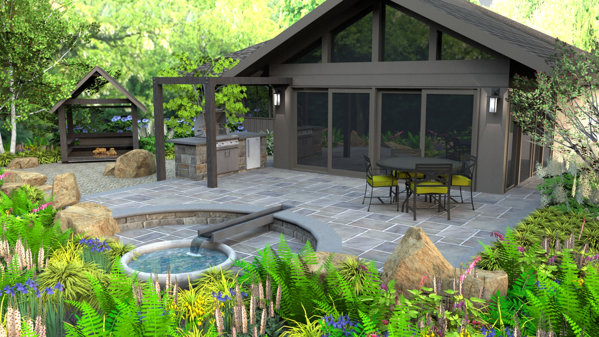 Contemporary Landscape Design Want Something Different From Your