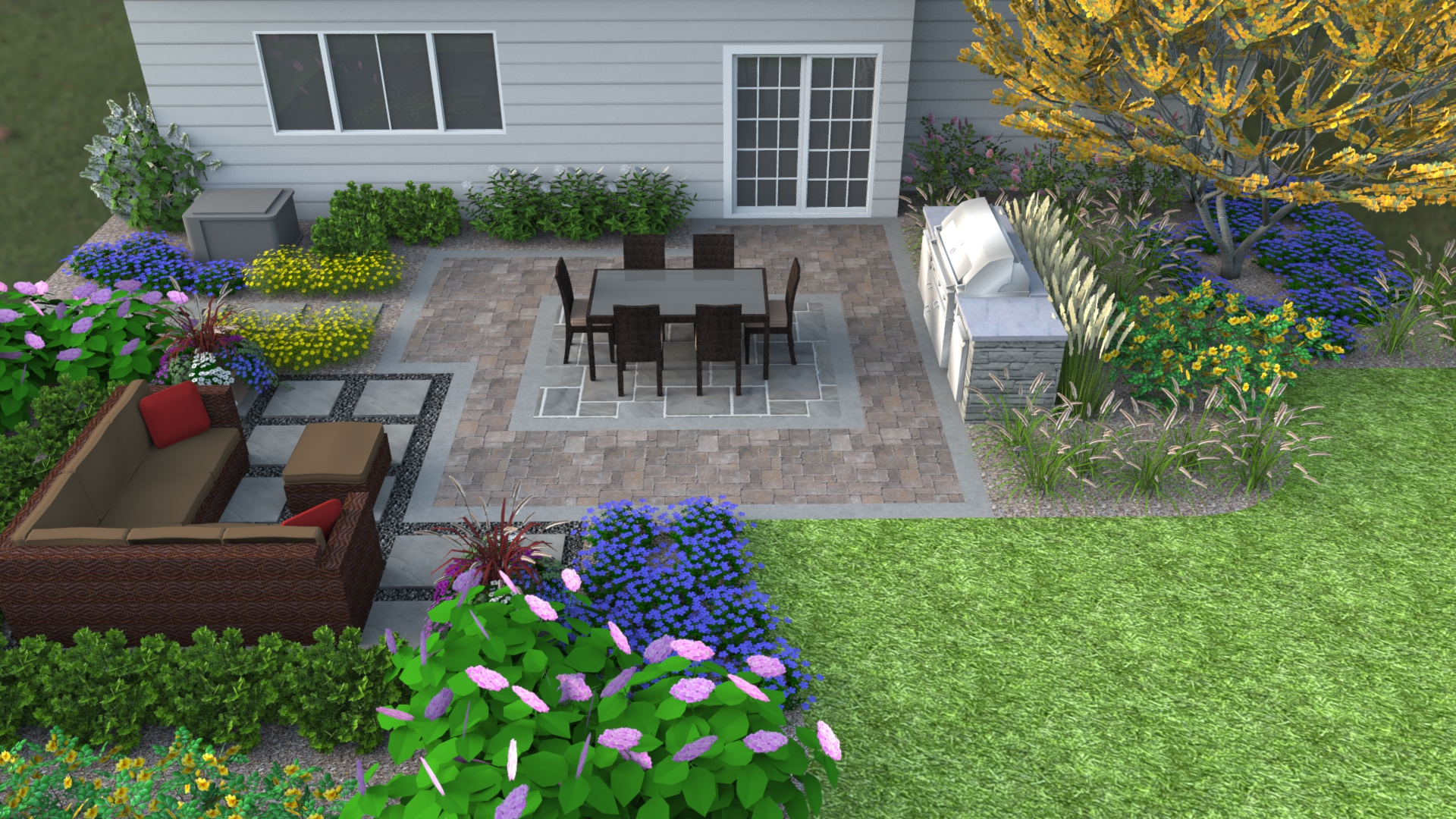 Contemporary landscape design want something different for Contemporary landscape design
