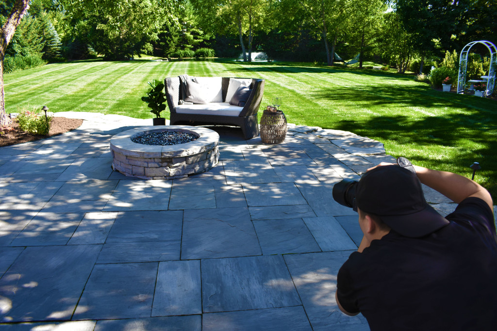 Photoshoot Fire Pit Design