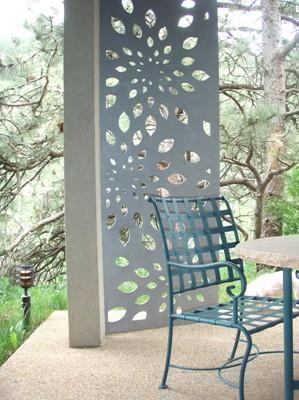 Parasoleil garden panels for shade and decor for Outdoor garden screen panels